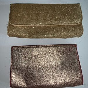 Bare mineral essential clutch purse makeup holder